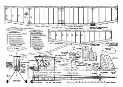 TippyTim model airplane plan