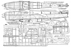 Tipsy-MAN-11-52 model airplane plan