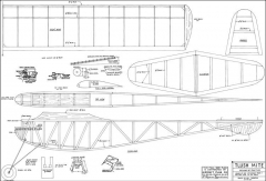 Tlush Mite model airplane plan