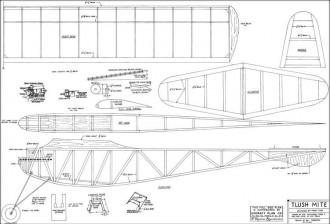 Tlush Mite model airplane plan