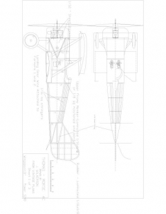 Tm1 Model 1 model airplane plan
