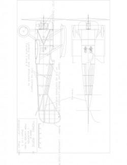 Tm1 Model 1 model airplane plan