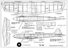 Tor Rat model airplane plan