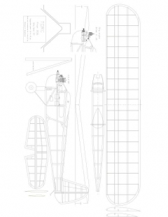 Torc 1936 Model 1 model airplane plan