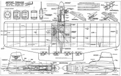 Mercury Toreador model airplane plan