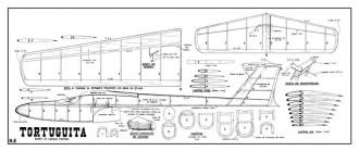 Tortuguita model airplane plan