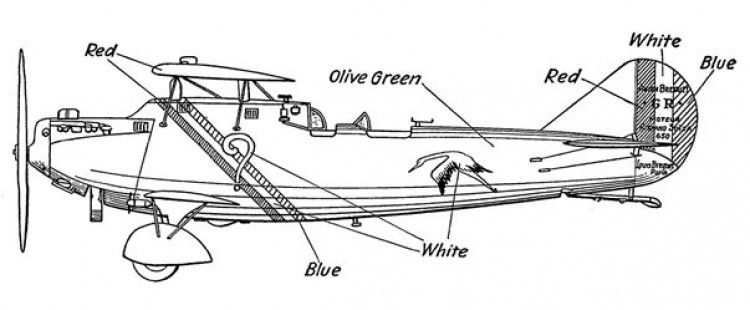 Trans Atlantic model airplane plan