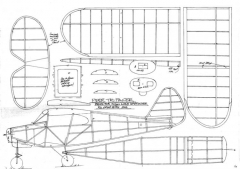 Tri-Pacer model airplane plan