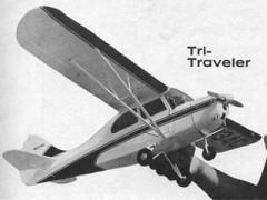 Tri-Traveler model airplane plan
