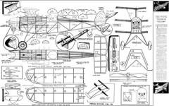 Tri Wing Terror model airplane plan