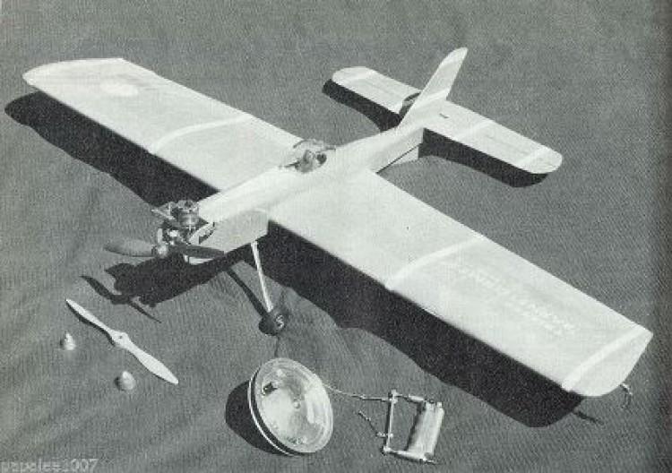 Trixter Barnstormer model airplane plan