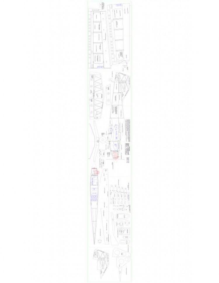 Tsport Model 1 model airplane plan