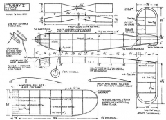 Tubby II model airplane plan