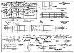 Tubby Wake p1 model airplane plan