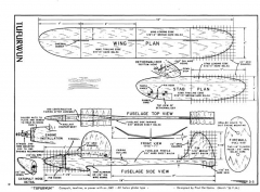 Tufurwun model airplane plan