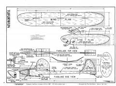 Tufurwun model airplane plan