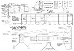 Tumbletot plan model airplane plan