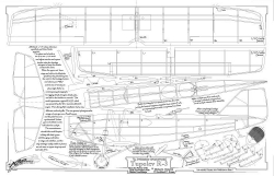 Tupolev R-3 model airplane plan
