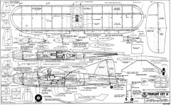 Turbulent City 10 model airplane plan