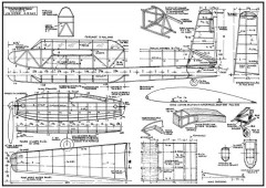 Twinnertoo model airplane plan