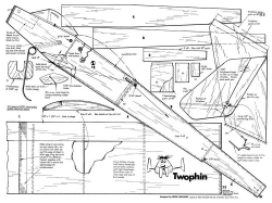 Twophin model airplane plan