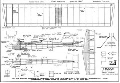 Tycoon model airplane plan