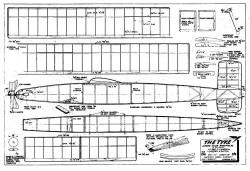 Tyke Wake model airplane plan