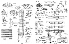 Typhoon 36in model airplane plan