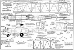 U-All-2 clearer model airplane plan