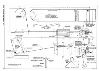 Ugly Duckling model airplane plan