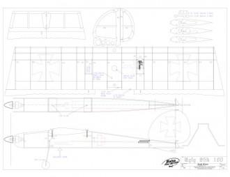 Ugly Stick 180 model airplane plan