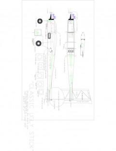 Uglystk Model 1 model airplane plan