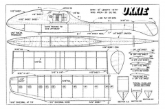 Ukkie model airplane plan