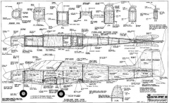 Ultra-Sport 60 model airplane plan