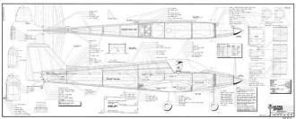 Ultra Sport 1000 model airplane plan