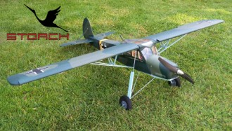 Fieseler Fi 156 Storch model airplane plan