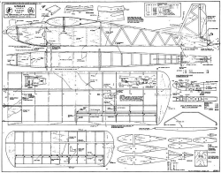 Uproar model airplane plan