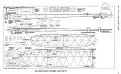 Uranus-MAN-03-64 model airplane plan