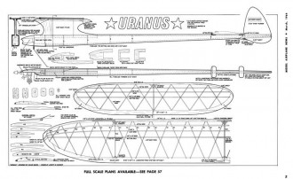 Uranus-MAN-03-64 model airplane plan