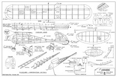 Vagabond 42in MAN 1943 model airplane plan