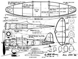 Val-2 model airplane plan