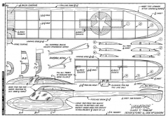 Vampire-MAN-01-45 model airplane plan