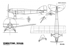 Van Hattum TFM-29 model airplane plan