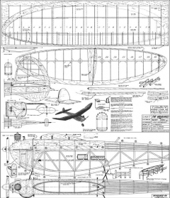 Vanguard 66 OT-1 model airplane plan