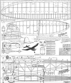 Vanguard 66 OT-1 model airplane plan