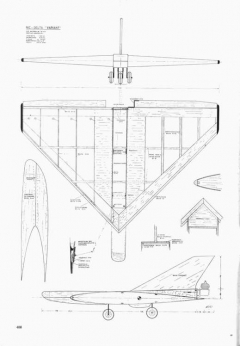 Variant p1 model airplane plan
