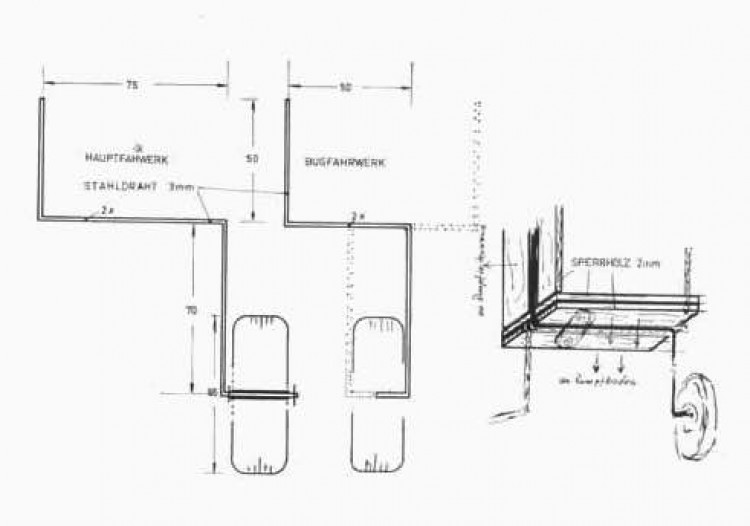 Variant p3 model airplane plan