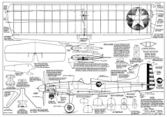Veco Squaw II model airplane plan