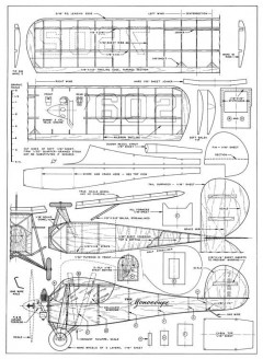 Velie Monocoupe-AT-04-50 model airplane plan