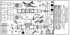 Vengeance model airplane plan